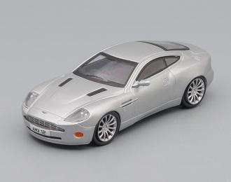 ASTON MARTIN V12 Vanquish, Суперкары 12, silver