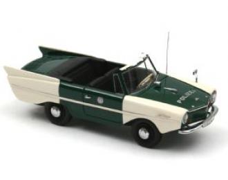 AMPHICAR Polizei Hamburg 1961, white / green