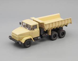 КРАЗ 6510 самосвал (1985-1994), бежевый