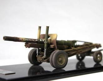 МЛ-20 - 152-мм гаубица-пушка (камуфляж), сдвоенные колеса