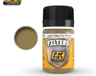 Фильтр для нанесения эффектов LIGHT FILTER FOR WOOD (светлыйфильтр для древесины)