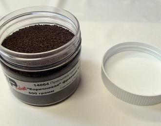 Присыпка грунт коричневая фракция m, 500 гр.
