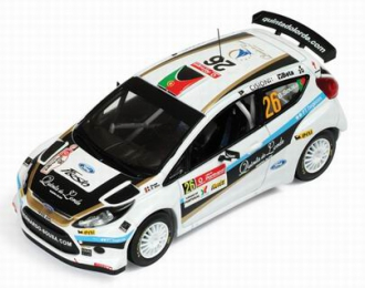 FORD Fiesta S2000 #26 4th S-WRC Vodafone Rally Portugal B.Sousa N.R.Da Silva (2010), white