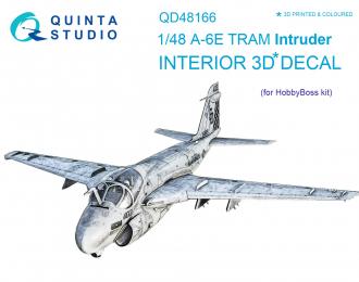 3D Декаль интерьера кабины A-6E TRAM Intruder (для модели HobbyBoss)