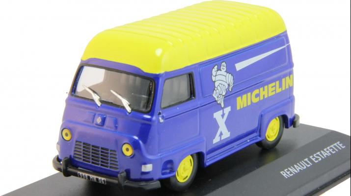 "RENAULT ESTAFETTE ""Michelin"", blue / yellow"
