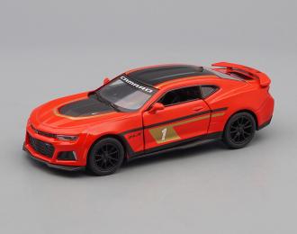 CHEVROLET Camaro ZL1 #1 (2017), red