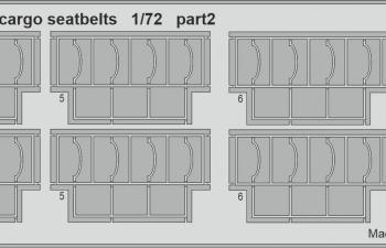 Набор фототравления для C-130H ремни для грузового отсека