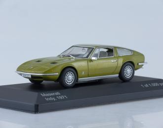 MASERATI Indy (1971), metallic light green