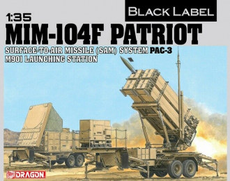 Сборная модель Ракетная установка MIM-104F PATRIOT SAM (PAC-3)