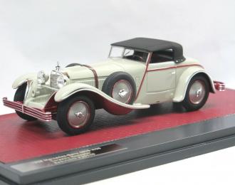 Mercedes-Benz 680S (W06) Torpedo Roadster Saoutchik #35949 - 1928 closed (grey)