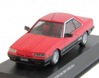 NISSAN Skyline 2000 Turdo RS-X (R30), red / black