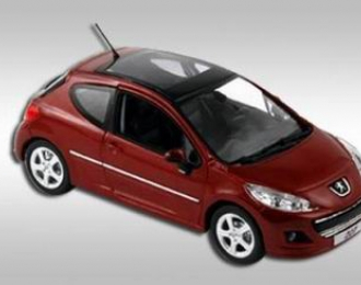 PEUGEOT 207 Erythree 2009, Red