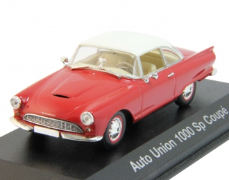 AUTO UNION 1000 Sp Coupe (1958), red / white
