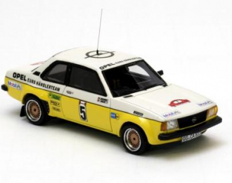 OPEL Ascona B Gr.2 Kleint European Rally Champion 1979, yellow