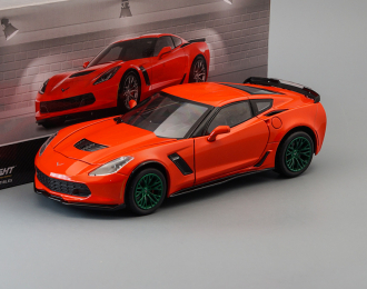 CHEVROLET Corvette Z06 Coupe 2019 Torch Red (Greenlight!)