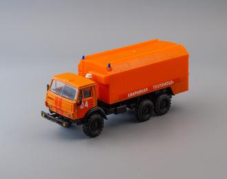 Камский грузовик 4310 Аварийная Техпомощь 04, ярко-оранжевый