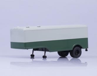 Полуприцеп МАЗ 5217, серый / зеленый