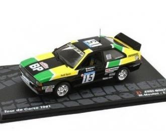 """AUDI Quattro #15 """"BP"""" Mouton/Pons Tour De Corse 1981"""