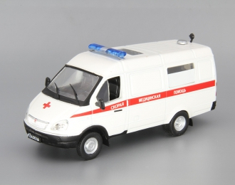 Горький 32214 АСМП, Автомобиль на службе, белый