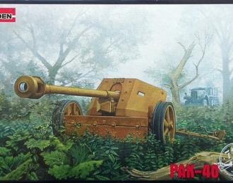 Сборная модель Немецкое противотанковое орудие 7,5 cm PaK40