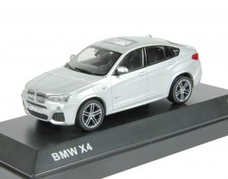 BMW X4 (2015), glacier silver metallic