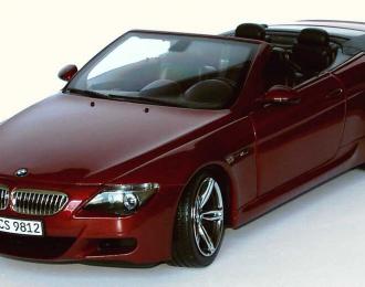 BMW 6er Cabrio E64 (2004), indianapolis rot met.