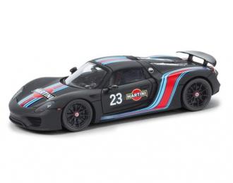 PORSCHE 918 Spider Martini Racing, black