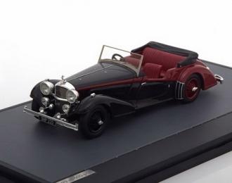 ALVIS 4.3 Litre Vanden Plas Tourer Cabriolet 1938 Black/Red