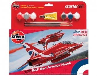 """Сборная модель Британский учебный самолет BaE Hawk Mk. I """"Red Arrows"""" (Подарочный набор)"""