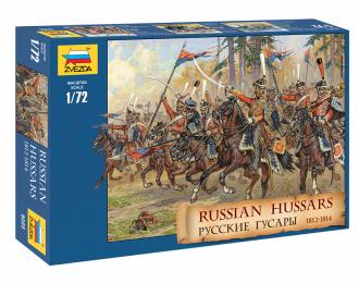 Сборная модель Русские гусары 1812-1814 гг.