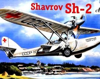 Сборная модель Советский самолет-амфибия Ш-2
