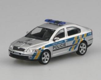 SKODA Octavia Policie CR (Czech Police), silver diamond