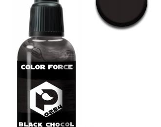 черный шоколадно-коричневый (black chocolate brown)
