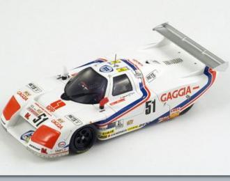 LANCIA LC1 №51 Le Mans (M.Sigala - O.Larrauri - M.Cohen Olivar) 1983, white