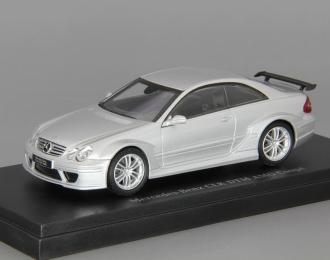 MERCEDES-BENZ CLK-DTM AMG Coupe C209 (W209) серебристый