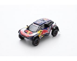 PEUGEOT 3008 DKR Maxi #303 - Team Peugeot Total - Winner Dakar 2018 C. Sainz - L. Cruz