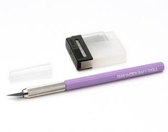 Modeler's Knife (Модельный ножик с 25 доп.лезвиями с Фиолетовой ручкой)