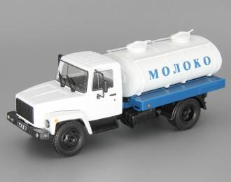 Горький 3307 Г6-ОТА-4,2 Цистерна Молоко, Грузовики СССР 13, белый