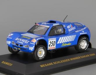 RENAULT Megane Schlesser Winner Dakar (2000), blue