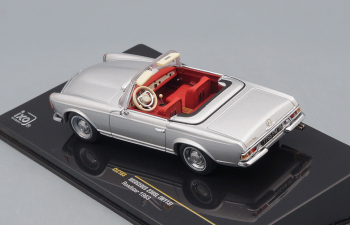 MERCEDES-BENZ 230SL (W113) Roadster 1963 Silver, with Red interiors