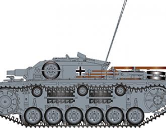 Сборная модель  Sturmgeschütz III Ausf E SdKfz 142/1 Eastern Front 1942