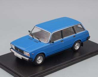 ВАЗ-2104, Легендарные Советские Автомобили 40, синий