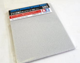 Наждачная бумага на поролоновой основе с зернистостью 180