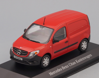 MERCEDES-BENZ Citan Kastenwagen W415 (2012), red