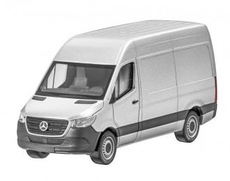 Mercedes-Benz Sprinter 2018 W907 фургон серебристый