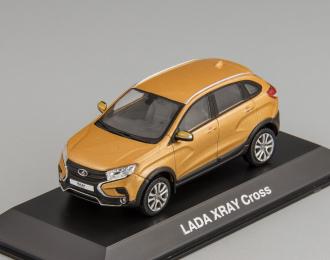LADA XRAY Cross оранжевый металлик