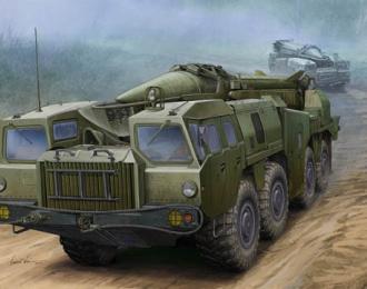 """Сборная модель Советский комплекс 9К72 """"Эльбрус"""" с баллистической ракетой Р-17"""