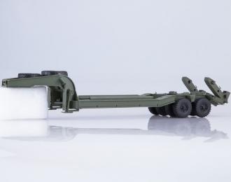 Полуприцеп-тяжеловоз ЧМЗАП-5247Г, бледно-зеленый