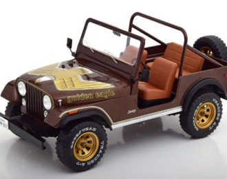 "JEEP CJ-7 4x4 ""Golden Eagle"" 1980 Brown"