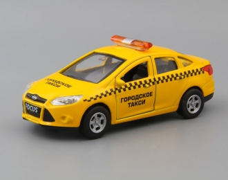 FORD Focus Такси, yellow